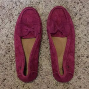 UGG Fuscia Loafers
